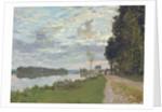 Le Promenade d'Argenteuil, 1872 by Claude Monet