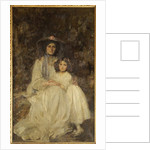 Lady Dickson-Poynder and her Daughter Joan, c.1905 by James Jebusa Shannon