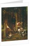L'Hallali or La Curee, 1858-62 by Gustave Courbet