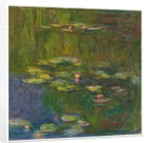 The Water Lily Pond, 1919 by Claude Monet
