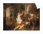 Nymphs and Bacchantes paying homage at the temple of Flora by Gerard de Lairesse