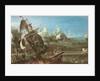 The Battle of Lepanto, 1622 by Andries van Eertvelt