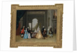 Group Portrait of John Offley Crewe and his family by Arthur Devis