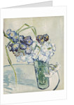 Still Life, Vase of Carnations, June 1890 by Vincent van Gogh