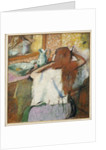 Woman at her Toilet by Edgar Degas