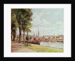 Cours La Reine, Rouen, 1890 by Camille Pissarro