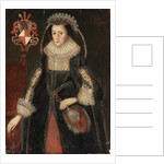 Portrait of Lady Eleanor Dutton by Marcus the Younger Gheeraerts