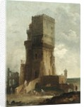A Capriccio of the Tower of Benevento by Hubert Robert