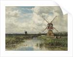 View near Leiden by Willem Roelofs