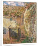 L'Escalier, 1878 by Claude Monet
