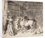 A Cavalier Bidding Farewell to a Lady, 1678 by Hendrick Verschuring