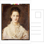 Portrait of the Artist's Daughter, Mary by John Everett Millais