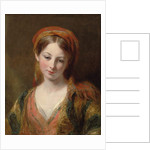 Portrait of a young girl, thought to be Henrietta Carpenter by Margaret Sarah Carpenter