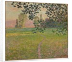 Morning landscape, 1888 by Claude Monet