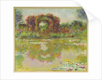 The arches of roses, Giverny, 1913 by Claude Monet