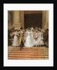 The Wedding, Church of St. Roch, Paris by Frederik Hendrik Kaemmerer