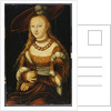Portrait of a Young Lady, c.1350 by Lucas the Elder Cranach