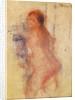 Standing Nude Woman by Pierre Auguste Renoir