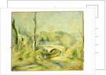 Landscape with a Bridge by Pierre Auguste Renoir