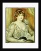 Woman with a Fan by Pierre Auguste Renoir