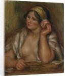Gabrielle with Green Necklace, c.1905 by Pierre Auguste Renoir