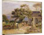 View of Treboul, c.1895 by Pierre Auguste Renoir