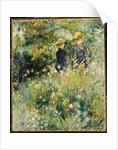 Conversation in a Rose Garden, 1876 by Pierre Auguste Renoir