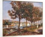The Bridge at Argenteuil by Pierre Auguste Renoir