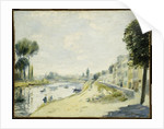 The Banks of the Seine at Bougival, c.1875 by Pierre Auguste Renoir