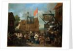 Southwark Fair, 1733 by William Hogarth