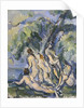 Study for Les Grandes Baigneuses, c.1902-06 by Paul Cezanne