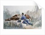 Cavalry Manoeuvre, c.1881 by Henri de Toulouse-Lautrec