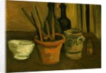 Still Life of Paintbrushes in a Flowerpot, 1884-85 by Vincent van Gogh