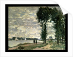 The Banks of the Seine at Argenteuil, 1872 by Claude Monet
