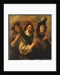 Three Musicians by Jacob Jordaens