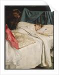 Sleeping, c.1865 by John Everett Millais