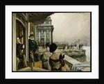 The Terrace of the Trafalgar Tavern, Greenwich, c.1878 by James Jacques Joseph Tissot