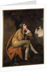 Edwin, from 'Minstrel' by Dr. Beattie by Joseph Wright of Derby