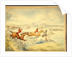 Hunting Scenes: Full Cry by Henry Thomas Alken