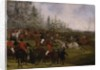 The Grand Leicestershire Steeplechase, March 12th, 1829: The Winning Post and Billesdon Coplow by Henry Thomas Alken