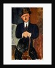 Seated Man 1918 by Amedeo Modigliani