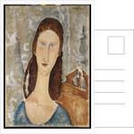 Portrait of Jeanne Hebuterne by Amedeo Modigliani