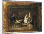 Study for 'Courtship' by Thomas Cowperthwait Eakins