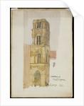 Campanile Martorana, Palermo, 1891 by Charles Rennie Mackintosh