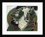 Book, Pipe and Glasses, 1915 by Juan Gris