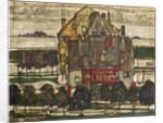 Single Houses 1915 by Egon Schiele
