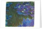 Nymphéas en fleur, 1914-17 by Claude Monet