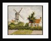 Windmill at Knokke, Belgium, 1894 by Camille Pissarro