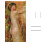 Nude with raised arm by Pierre Auguste Renoir