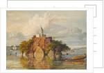 Fakeer's Rock at Janguira, near Sultanganj on the Ganges by William Prinsep